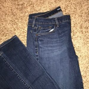 old navy long size jeans